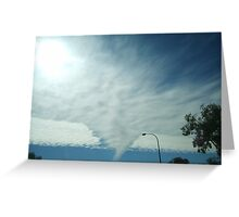 2008 Clouds Greeting Card