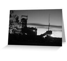 2008 North Mine Morning Greeting Card
