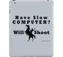 Have Slow Computer? Will Shoot iPad Case/Skin