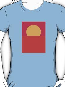 Minimal Sunset  T-Shirt