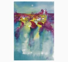 PONTE VECCHIO, Florence One Piece - Long Sleeve