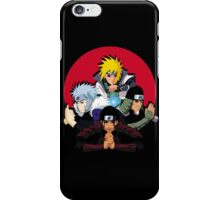 Red Moon HOKAGES iPhone Case/Skin
