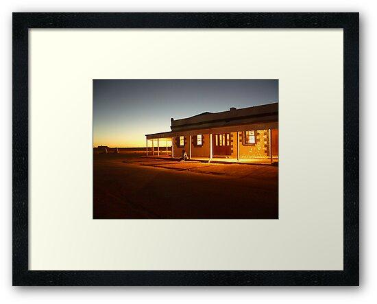 Birdsville Hotel by Matt  Williams