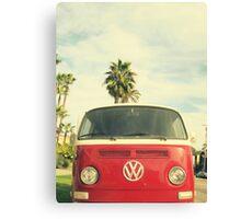 VW Coastin' Canvas Print