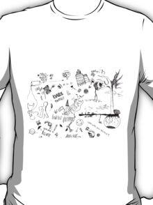 Scribble. Luna-lsd T-Shirt
