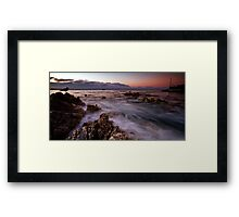 Last rush before dusk Framed Print