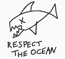 Respect the Ocean - Cool Grunge Mashup - White Version by notonlywaves