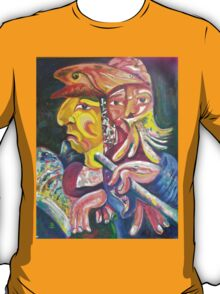 """Golden Calf 14 """"Two Faces in One"""" T-Shirt"""