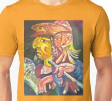 """Golden Calf 14 """"Two Faces in One"""" Unisex T-Shirt"""