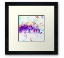 Crazy Abstract Framed Print