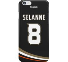 Anaheim Ducks Teemu Selanne Jersey Back Phone Case iPhone Case/Skin