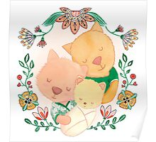New baby kitten (girl) Poster