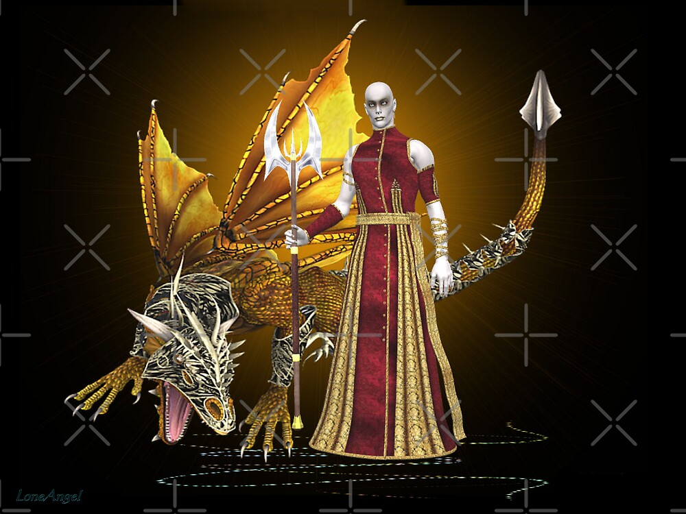 Dragon sorcerer by LoneAngel