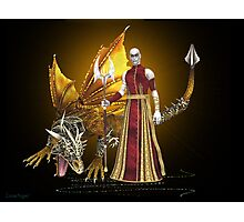 Dragon sorcerer Photographic Print