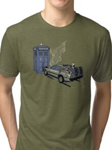 Back to the Whoture Tri-blend T-Shirt