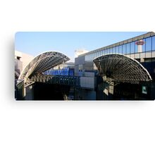 Kyoto Train Station 3 Canvas Print