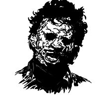 Leatherface Photographic Print