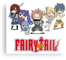 Fairy Tail Chibi Metal Print