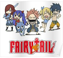 Fairy Tail Chibi Poster