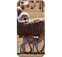 Feeding time for the twins iPhone Case/Skin