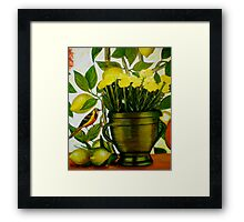 Mothers Day 1 - Oil Painting Framed Print