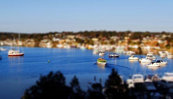 Gunnamatta Ferry by Nick Ford