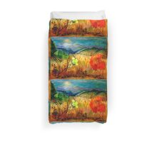 At the Edge of Dreaming Fields Duvet Cover