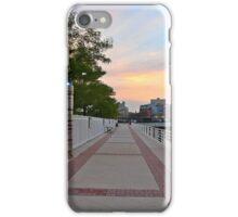 Promenade on the Hudson River iPhone Case/Skin