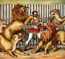 Vintage Lion Tamer by monsterplanet
