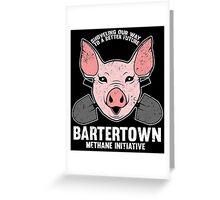 Bartertown Methane Initiative Greeting Card