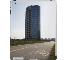 bicycle urban way iPad Case/Skin