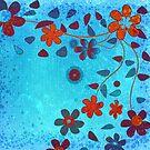 Grunge Flowers by krddesigns