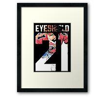 Eyeshield 21 Sena 3 Framed Print