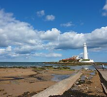 "St Mary""s Island/Lighthouse 3 {For wor Renee cause shes great} by Onions"