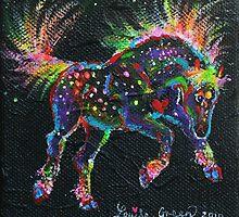 Fireworks Pony by louisegreen
