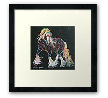 Little Gypsy Treasures Pony Framed Print