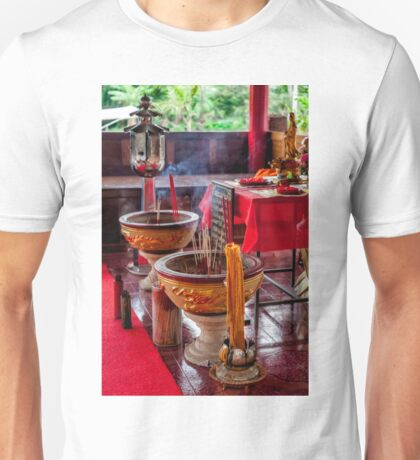 Buddhist Incense Unisex T-Shirt