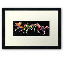 Spirit Ponies Framed Print