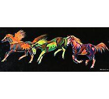Spirit Ponies Photographic Print