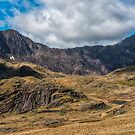 View of Snowdon by Adrian Evans