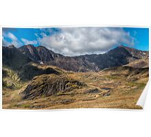 View of Snowdon Poster