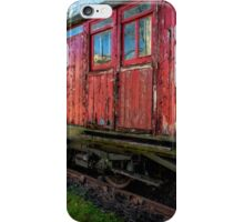 Old Train Wagon iPhone Case/Skin