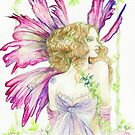 Fantasy Fairy Dianthus by morgansartworld