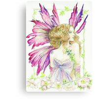 Fantasy Fairy Dianthus Canvas Print