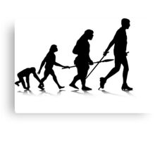 Human Evolution 2 Canvas Print