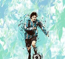 Messi Argentina Abstract by ashah