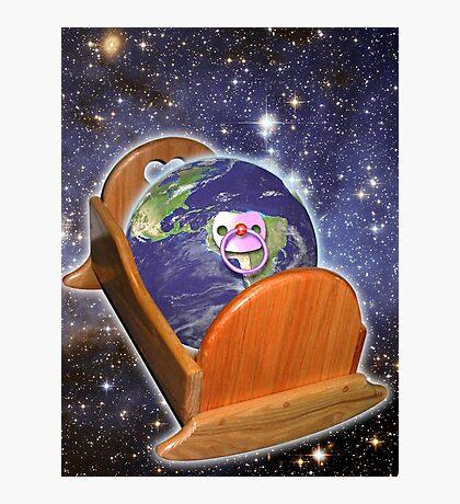 Birth Of Earth Photographic Print