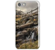 Bridge to Moutains iPhone Case/Skin