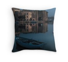 Isla Malta  Throw Pillow