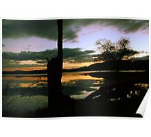 Lake montieth (Scotland) reflections Poster